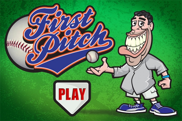 First Pitch Title Screen