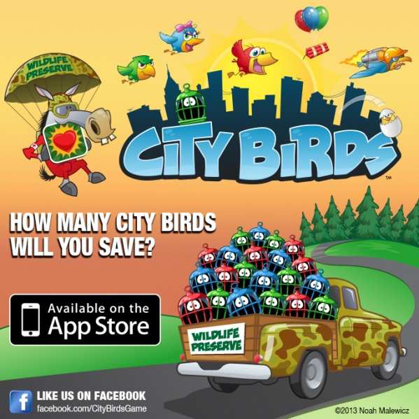 City Birds Facebook Ad